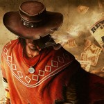Cowboy reads paper
